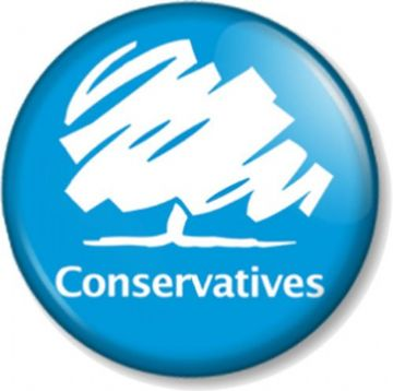 Conservatives Pinback Button Badge General Election Political Party Tory Tories Logo